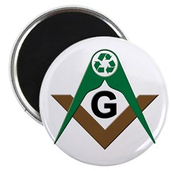 Masonic Recyclers Magnet