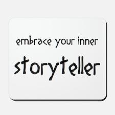 inner storyteller Mousepad