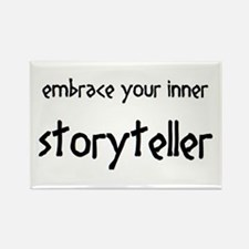 inner storyteller Rectangle Magnet
