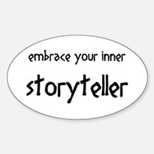 inner storyteller Decal
