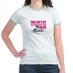 This ain't my husbands sled Jr. Ringer T-Shirt