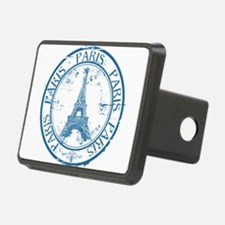 Paris travel stamp Hitch Cover