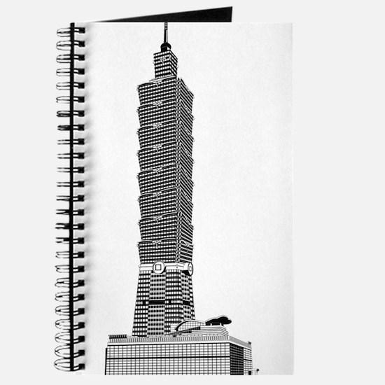 Taipei tower skyscrapers Journal