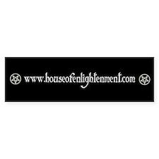 House Of Enlightenment Bumper Bumper Sticker