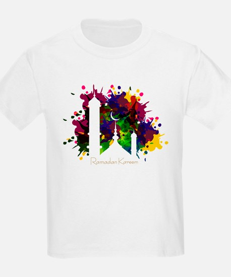 Colorful Ramadan Kareem design T-Shirt