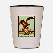 Funny Absinthe Shot Glass