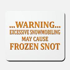 Snowmobile Snot Mousepad