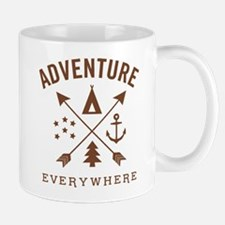 Adventure Everywhere Mugs