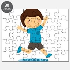 Personalized Gift for Kids Happy Boy Puzzle
