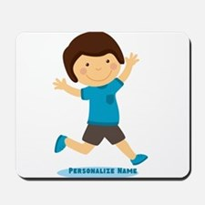 Personalized Gift for Kids Happy Boy Mousepad