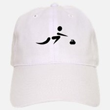Curling player icon Baseball Baseball Cap