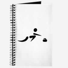 Curling player icon Journal