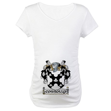 Connolly Coat of Arms Maternity T-Shirt