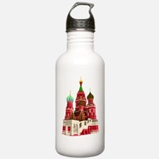 Moscow castle design Water Bottle