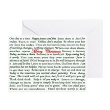 Merry Christmas Slogan Card Greeting Cards (Pk of