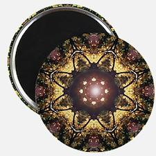 Gold & Black Mandala Magnet