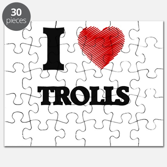 I love Trolls Puzzle