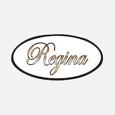 Gold Regina Patch