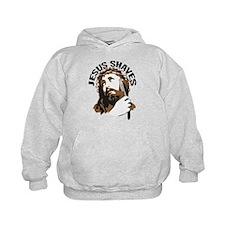 Jesus Shaves BrnBlk Hoodie