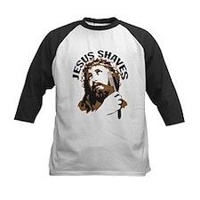 Jesus Shaves BrnBlk Tee