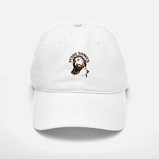 Jesus Shaves BrnBlk Baseball Baseball Cap