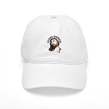 Jesus Shaves BrnBlk Baseball Cap