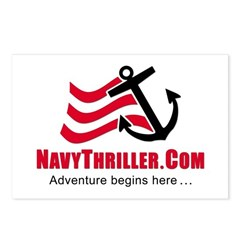 Navy Thriller Postcards (Package of 8)