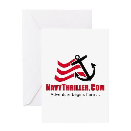 Navy Thriller Greeting Card