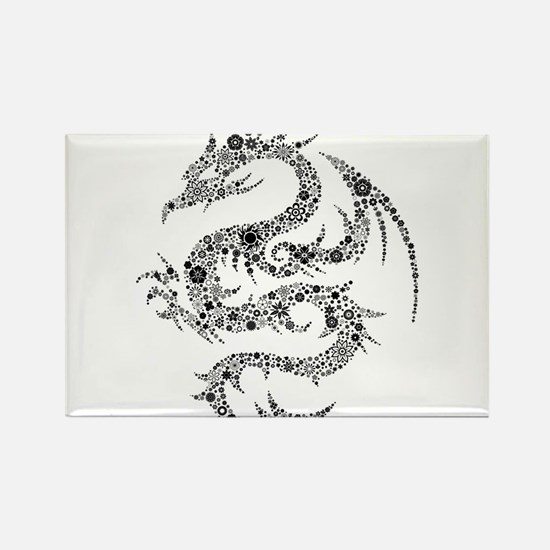 Dragon clip art Magnets