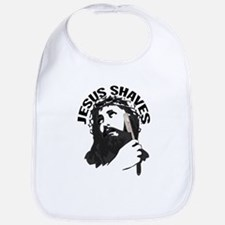 Jesus Shaves BkBk Bib