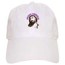 Jesus Shaves BrnPrpl Baseball Cap