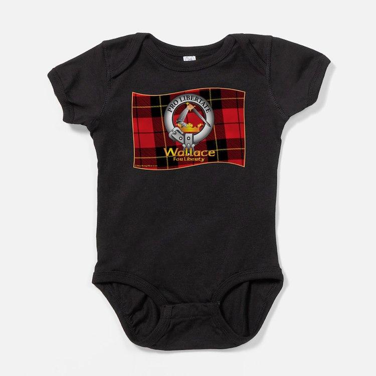 Cute Scottish clan crest Baby Bodysuit