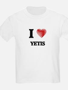 I love Yetis T-Shirt