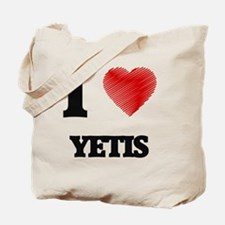 I love Yetis Tote Bag