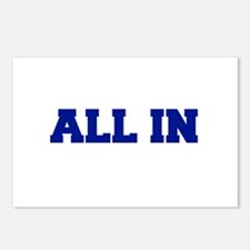 All In Postcards (Package of 8)