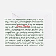 Seasons Greetings Slogan Holiday Greeting Card