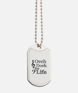 Orch Dork for Life Dog Tags