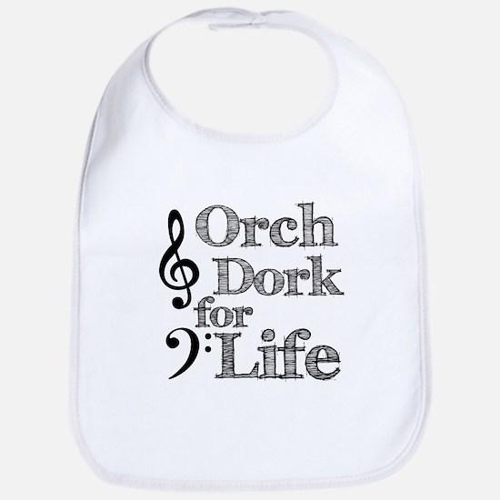 Orch Dork for Life Bib