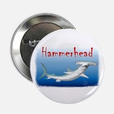 "Hammerhead Shark 2.25"" Button (10 pack)"