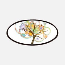 Trendy abstract tree Patch