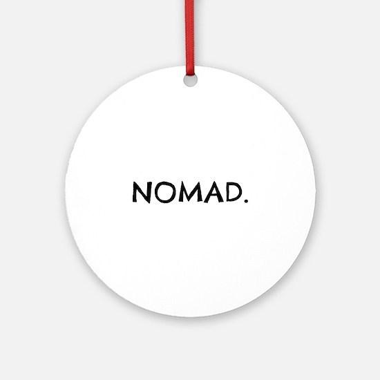 Nomad Round Ornament