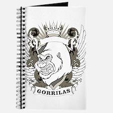 Gorilla with crown design Journal