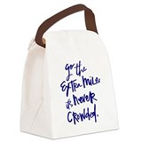 Inspirational quotes Canvas Lunch Bag