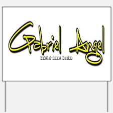 Gabriel Angel Yard Sign