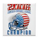 2006 Fantasy Football Champio Tile Coaster