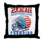 2006 Fantasy Football Champio Throw Pillow