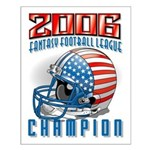 2006 Fantasy Football Champio Small Poster