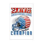 2006 Fantasy Football Champio Mini Poster Print