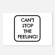 Can't Stop the Feeling Postcards (Package of 8)