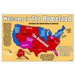Welcome to the Homeland Large Poster
